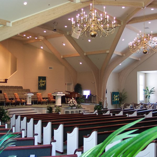 1559-11 First Baptist Church of Bluffton, Bluffton, SC - Interior_AP